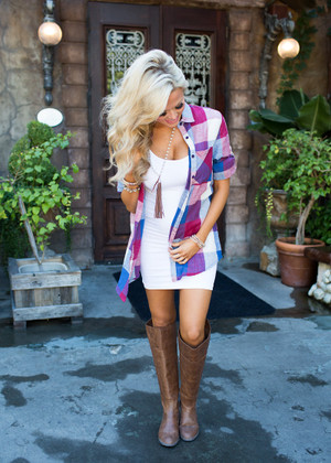 Loose Around the Edges Plaid Top Red/Blue