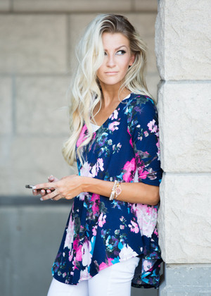 Has Anybody Ever Felt This Way Floral Top
