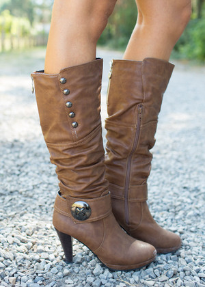 These Boots Were Made for Walkin Brown