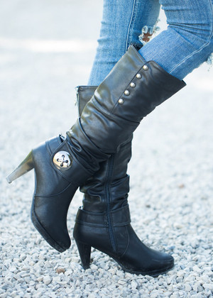 These Boots Were Made For Walkin Black