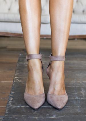 Victoria's Elegant Natural Heels