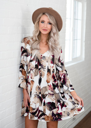 I Want You To Know Floral Dress