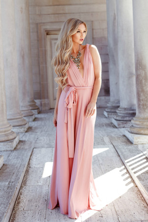 Completely Perfect Tie Maxi Rose