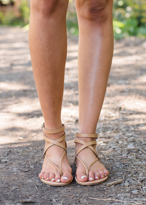 Keep It Simple Sandals Camel
