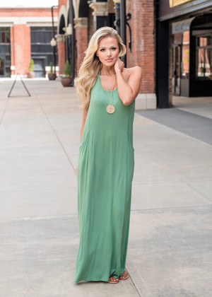 For the Love of a Maxi Apple Green