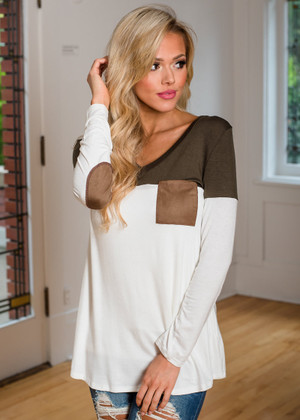My Latest Discovery Top Olive