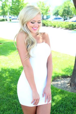 Seamless White Under Garment Layering Piece