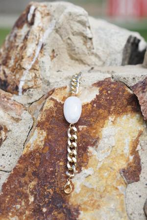 Large Stone Bracelet