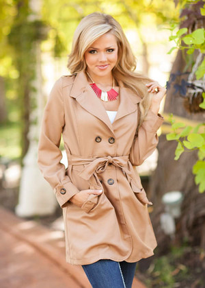 Fashion Inspector Coat Brown  CLEARANCE