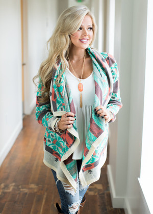 The Mint Coveted Cardigan CLEARANCE