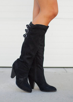 Cat Walk Boots Black CLEARANCE