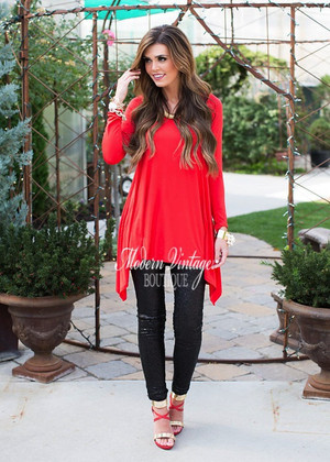 Fairest of Them All Top RED
