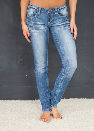 Lighter Wash Skinny Jeans CLEARANCE