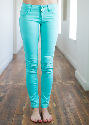 Superb Jeggings in Mint