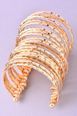 Calypso's Gold Bracelet Cuff