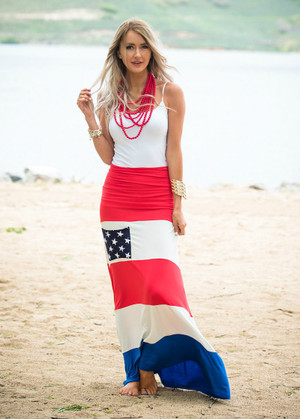 Pride Pocket Maxi Skirt