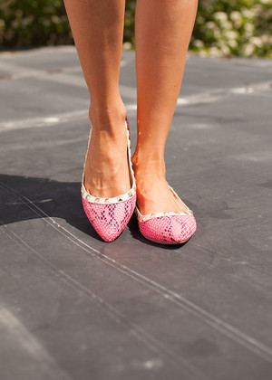 Livin' Wild Flats Hot Pink CLEARANCE