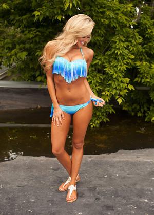 Lost In Paradise Bikini Royal Blue/Aqua CLEARANCE