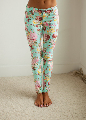 Floral Perfection Jeggings CLEARANCE