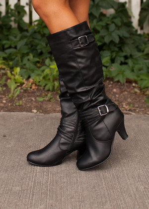Beautiful Soul Black Boots CLEARANCE
