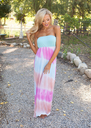 Tye Dye Haven Maxi CLEARANCE