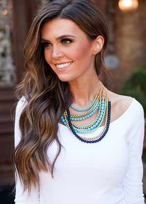 Ready For Love Necklace Blue
