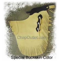 buckskin chink, 3 buckle