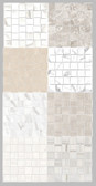 Mayfair Collection 2x2 Basketweave Mosaics