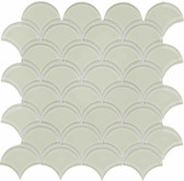 Bliss Element Sand Scallop Mosaics