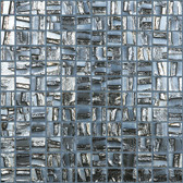 "PLUTO • Moon Collection by Vidrepur • Recycled Mosaic 1"" x 1"" Glass Tiles"