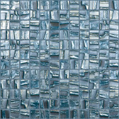 "BLUE PLANET • Moon Collection by Vidrepur • Recycled Mosaic 1"" x 1"" Glass Tiles"