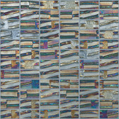 "SUPER NOVA • Moon Collection by Vidrepur • Recycled Mosaic 1"" x 2"" Glass Tiles"