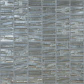 "GALAXY • Moon Collection by Vidrepur • Recycled Mosaic 1"" x 2"" Glass Tiles"