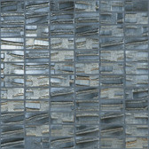 """PLUTO • Moon Collection by Vidrepur • Recycled Mosaic 1"""" x 2"""" Glass Tiles"""