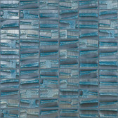 "BLUE PLANET • Moon Collection by Vidrepur • Recycled Mosaic 1"" x 2"" Glass Tiles"