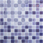 "NORTHERN LIGHTS • Lux Collection by Vidrepur • Recycled 1"" x 1"" Mosaic Glass Tiles"