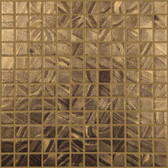 "MIDAS • Arts Collection by Vidrepur • Recycled 1"" x 1"" Mosaic Glass Tiles"