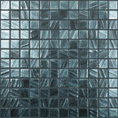 "MERCURY • Arts Collection by Vidrepur • Recycled 1"" x 1"" Mosaic Glass Tiles"