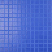 "BLUEBERRY • Essentials Collection by Vidrepur • Recycled 1"" x 1"" Mosaic Glass Tiles"