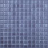 "COBALT BLUE MATTE • Deco Collection by Vidrepur • Recycled 1"" x 1"" Mosaic Glass Tiles"