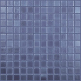 "COBALT BLUE MATTE • Deco Collection by Vidrepur • Recycled 1"" x 1"" Mosaic Glass Tiles"