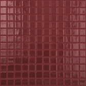 "BURGUNDY • Deco Collection by Vidrepur • Recycled 1"" x 1"" Mosaic Glass Tiles"