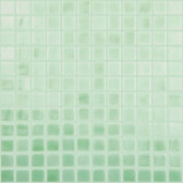 "GREEN APPLE • Deco Collection by Vidrepur • Recycled 1"" x 1"" Mosaic Glass Tiles"
