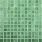 "PRAIRIE GREEN • Deco Collection by Vidrepur • Recycled 1"" x 1"" Mosaic Glass Tiles"