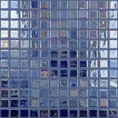 "ANTARCTICA IRIDESCENT • Deco Collection by Vidrepur • Recycled 1"" x 1"" Mosaic Glass Tiles"