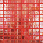 "CORAL • Titanium Collection by Vidrepur • Recycled Mosaic 1"" x 1"" Glass Tiles"