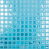 "NIAGARA IRIDESCENT • Titanium Collection by Vidrepur • Recycled Mosaic 1"" x 1"" Glass Tiles"