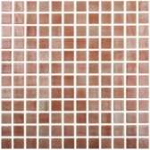 "FOG BROWN • Colors Collection by Vidrepur • Recycled Mosaic 1"" x 1"" Glass Tiles"