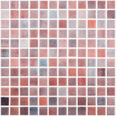 "FOG PURPLE • Colors Collection by Vidrepur • Recycled Mosaic 1"" x 1"" Glass Tiles"