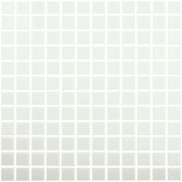 "IVORY • Colors Collection by Vidrepur • Recycled Mosaic 1"" x 1"" Glass Tiles"